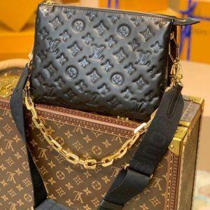 LV Coussin PM Black Bag